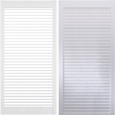 Shutters Panel Options - LOUVRE SIZES
