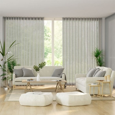 S-Fold Thorens Voile Smoke Curtains