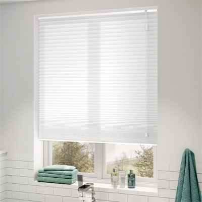 DuoLight-Max Cotton White Pleated Honeycomb Shades