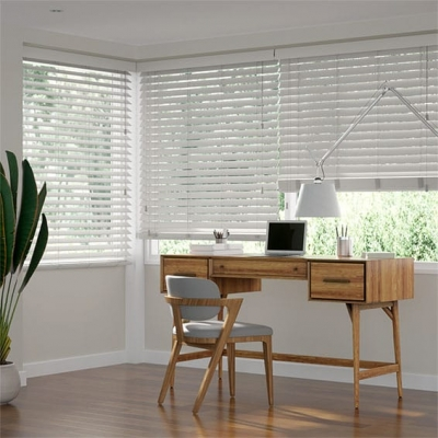 Metropolitan Thunder Grey Wooden Blind