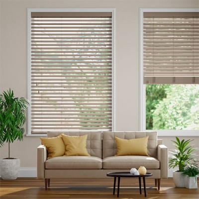 Metropolitan Clay Wooden Blind