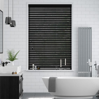 Metropolitan Midnight Wooden Blind