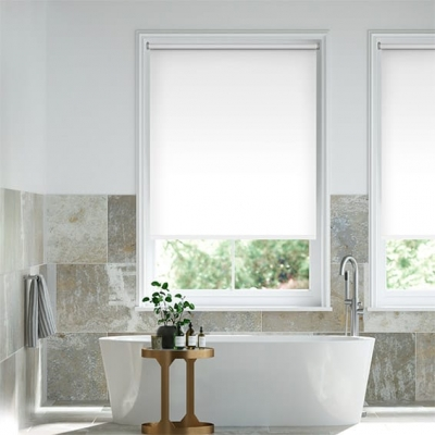 Voyage Ice White Roller Blind